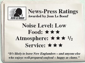 The Clam Bake Restaurant Reviews by the News-Press